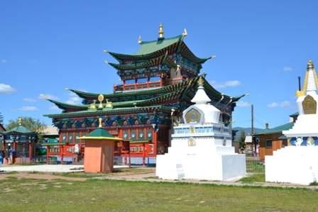 Дуган(храм) Хамбы Ламы Итигэлова
