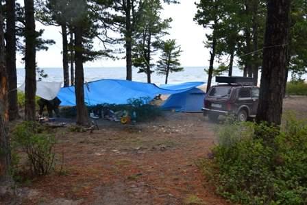Наш горячинский лагерь