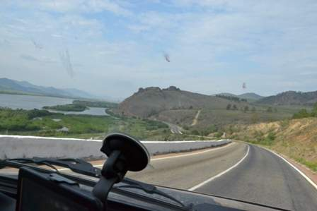 Подъезжаем к Улан-Удэ