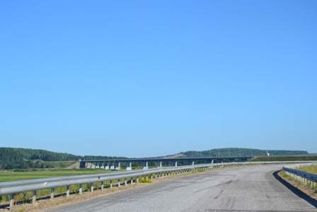 Мост через реку Селенга у села Тресково.