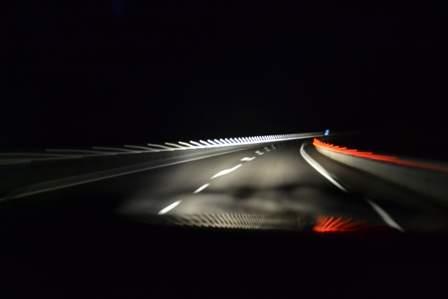 Ночная дорога к дому