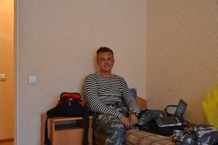 Номер в гостинице Баргузина.