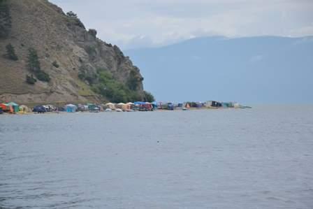 Побережье бухты у села Монахово