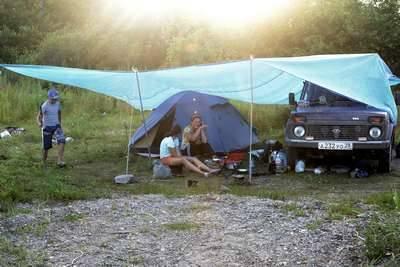 Лагерь на