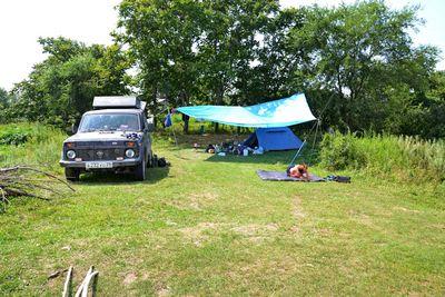 Лагерь на Ханке