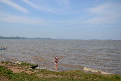 на озере Ханка